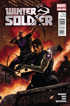 """February 2014 - """"Winter Soldier: The Black Widow Hunt"""" by E. Brubaker, B. Guice"""