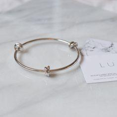 Love knot Bracelet Silver