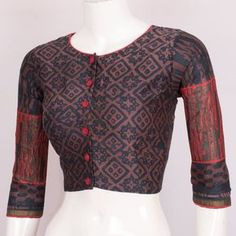 How To Hire Designer Fashion & Dresses Blouse Back Neck Designs, Fancy Blouse Designs, Sari Blouse Designs, Blouse Styles, Blouse Patterns, Blouse Models, Beautiful Blouses, Indian Designer Wear, Printed Silk
