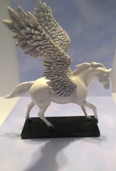 Trail of Painted Ponies SILVER LINING  Pegasus! 2E/7307 Winged Horse AWESOME!!   http://r.ebay.com/S8J8si
