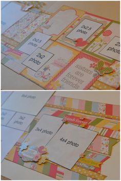 scrapbook generation: Six new layouts kits!
