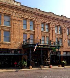 Fort Worth Texas Stockyards District, Stockyards Hotel