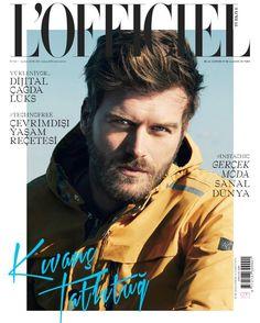 Kıvanç Tatlıtuğ en portada de L'Officiel Hommes Turquía Febrero 2018