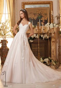 Blu Bridal by Mori Lee 5468 Blu Bridal Collection by Mori Lee