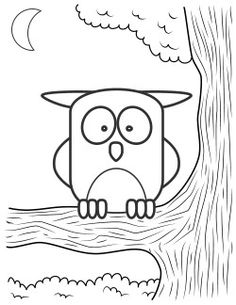 Adorable Owl Coloring Page Keep On Hand For My Origami Jewelry Bars