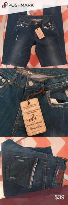 New Designer Jeans Echo friendly dye Made to Fade stretch velvety feel on the body. Jeans Straight Leg
