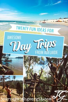 If you're in Adelaide, South Australia, then you'll be spoiled for choice for fun day trip ideas! Here are twenty of the best day trips from Adelaide, from beaches to historic mining towns and everything in between!
