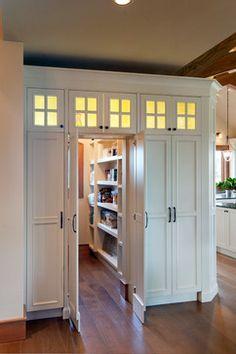 109 Best Hidden Pantry Images In 2019 Kitchen Storage