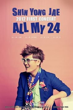 Shin Yong Jae to hold his first concert, 'All My 24′
