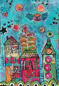 Home is where the heart is - birgit koopsen - left