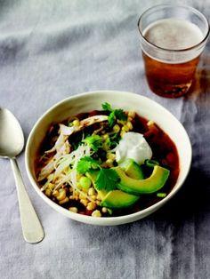 "Vegetarian Chili recipe from Martha Stewart Living's new cookbook ""Meatless"""