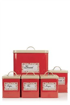 Buy 5 Piece Storage Tin Set from the Next UK online shop