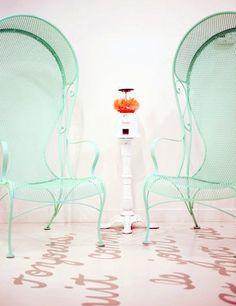 mint chairs-fabulous!
