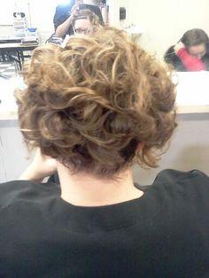 Short hair updo #beautybyjessicariley