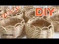 Basket Crafts, Decoration, Rattan, Diy And Crafts, Youtube, Home Decor, Hampers, Amigurumi, Tejidos