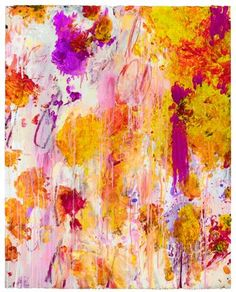 Cy Twombly 2001. I love these colors