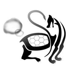 '만세'를 이용하여 거북이가 걷는 모습을 형상화하였다.