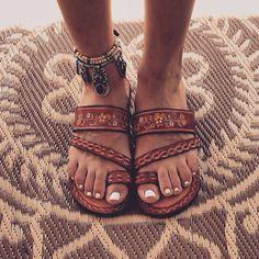 Pinterest: @ Lovelymariexoxo NIB Women?s Ankle Strap Toe Ring Thong Sandal NIB Women?s Ankle Strap Toe Ring Thong Sandal. Leopard print. Shoes Sandals
