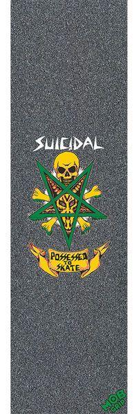 """MOB Suicidal Tendencies Possessed to Skate Grip Tape 9"""""""" X 33"""""""""""