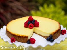 Sadie's Lemon Summer Surprise is an easy to make, delicately flavored lemon cheesecake pie that whips up in minutes without the fuss of traditional cheesecake.