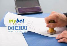 Mybet продает поставщика платежных услуг C4U-Malta.  Международный оператор азартных игр онлайн, компания Mybet Holdings, договорился о продаже своей дочерней компании, поставщика платежных бизнес-услуг, ориентированного на финансовый сектор.