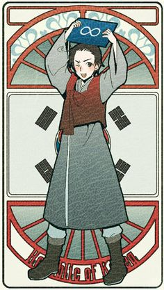 Republic of Korea | Hetalia Tarot Card
