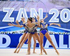 Group Italy, World Cup (Kazan) 2017 Italy Team, Artistic Gymnastics, Rhythmic Gymnastics Leotards, World Cup, Athlete, Dance, Group Photos, Bikinis, Life
