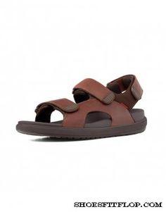 319a4b1a4dd Fitflop Mens Sandals Landsurfer Tan Sport Sandals