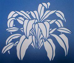 Happy Plant Stencil