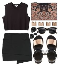 """670"" by ruska-10 ❤ liked on Polyvore featuring ASOS, Givenchy, Nomia, Acne Studios, Maison Margiela, black and simpleoutfit"