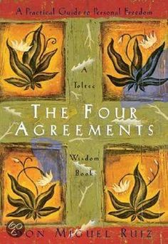 """Rooted in traditional Toltec wisdom beliefs, four agreements in life are essential steps on the path to personal freedom. As beliefs are transformed through maintaining these agreements, shamanic teacher and healer don Miguel Ruiz asserts lives will """"become filled with grace, peace, and unconditional love""""."""