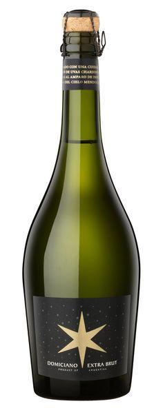 Domiciano Extra Brut. Elaborado con uvas Chardonnay y Pinot Noir de cosecha nocturna.