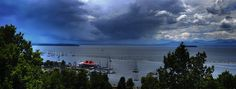 View from Battery Park - Burlington, Vermont by Marty.FM, via Flickr