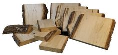 One box full of thick basswood slabs for carving, sign making, pyrography. Log Slices, Wood For Sale, Weird Shapes, Birch Bark, Large Photos, Coat Hanger, Types Of Wood, Pyrography, Rustic Style