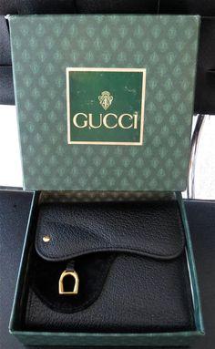 vintage Gucci equestrian wallet