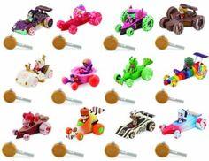 Trish - Owen would like this for his birthday. Amazon.com: Wreck-it Ralph Sugar Rush Racers: Complete Disney Exclusive 12 figure Set: Vanellope Von Schweetz, Taffyta Muttonfudge, Candle Head, Rancis Fluggerbutter, King Candy, Snowanna Rainbeau, Minty Zaki, Swizzle The Swizz Malarkey, Jubileena Bing-Bing, Gloyd Orangeboar, Crumbelina DiCarmello, Adorabeezle Winterpop: Toys & Games
