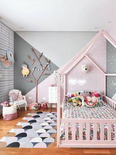 33 Adorable Nursery Room Ideas For Girl Little girls room. 33 Adorable Nursery Room Ideas For Baby Girl Baby Bedroom, Baby Room Decor, Nursery Room, Bedroom Decor, Nursery Ideas, Girl Nursery, Bedroom Girls, Bedroom Fun, Room Baby