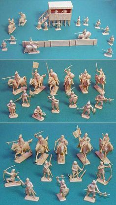 Italeri Medieval Tournament- Royalty figs