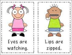 Imgs For > Preschool Classroom Rules Clipart Preschool Classroom Rules, Classroom Behavior, In Kindergarten, Preschool Lessons, Preschool Activities, Behaviour Management, Class Management, Classroom Management, Give Me Five