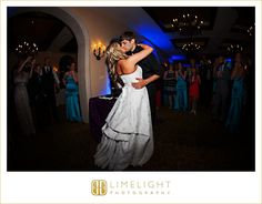 Limelight photography, www.stepintothelimelight.com, Weddings, Florida, Avila Golf and Country Club, First Dance, Bride, Groom, Wedding Dress, White, Black, Blue