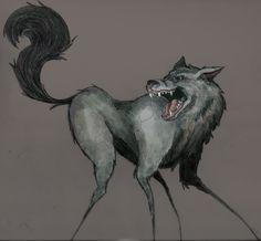 Mad Wolf illustration