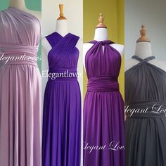Prom Dressing Bridesmaids Dress Wedding Dress Infinity Dress Wrap Dress Convertible Dress Evening Cocktail Party Maxi Elegant Bridal Dresses