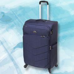 COLECCIÓN FRANKFURT Materiales de última generación y diseño super actual caracterizan a esta valija de 4 ruedas. www.primicia.com.ar