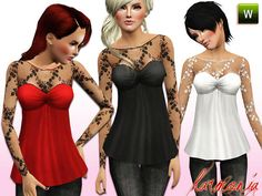Harmonia's Dollbaby Lace Ivy Top