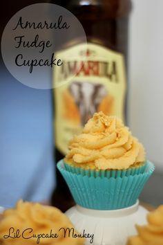 amarula fudge cupcakes. #recipes #cupcakes #amarula