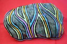 Les pierres peintes et décorées - Isabelle Herbuvaux
