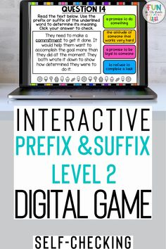 Review prefixes and suffixes in a fun and engaging way with this DIGITAL Prefix and Suffix Review Activity! Play as a whole group, small group, or even during distance learning! With 30 examples of prefixes and suffixes used in context for students to practice with, this resource is sure to help them master difficult text.