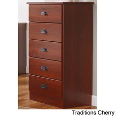 Lang Furniture Five-Drawer MDF Chest | Overstock.com Shopping - Big Discounts on Lang Furniture Kids' Dressers