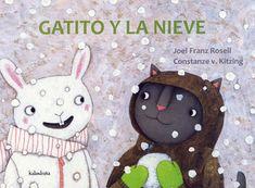 Álbum ilustrado protagonizado por dos animales humanizados: Gatito y Conejita. Los dos son buenos amigos. Como ese día ha nevado, juegan al escondite en la calle pero, Gatito no logra encontrar a Conejita blanca... #LIJ