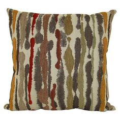 Home® Decorative Woven Watercolor Stripe Toss Pillow - Cool Colors.Opens in a new window